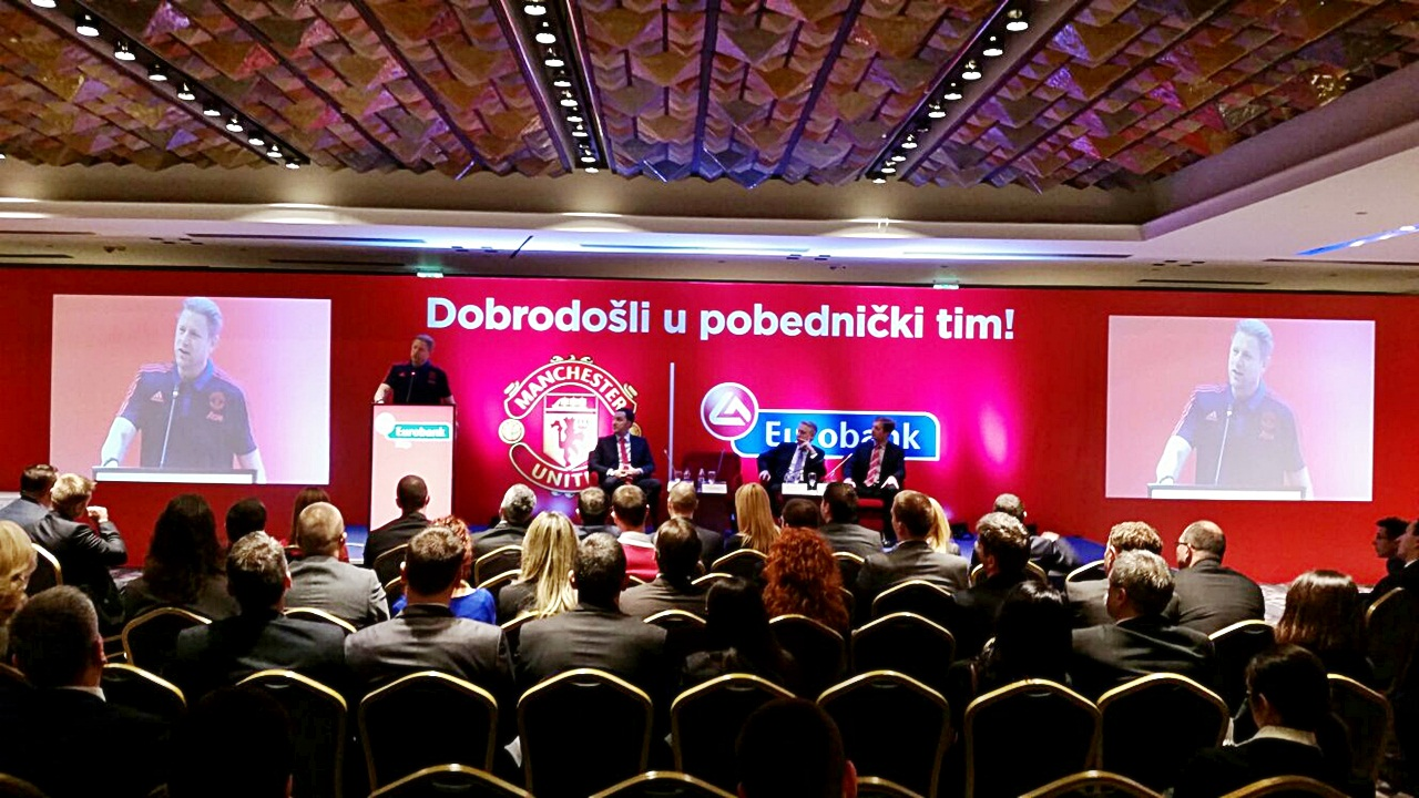 Eurobank and Manchester United presentation